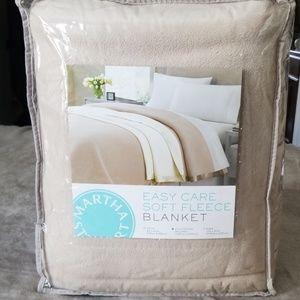 Martha Stewart Fleece Blanket